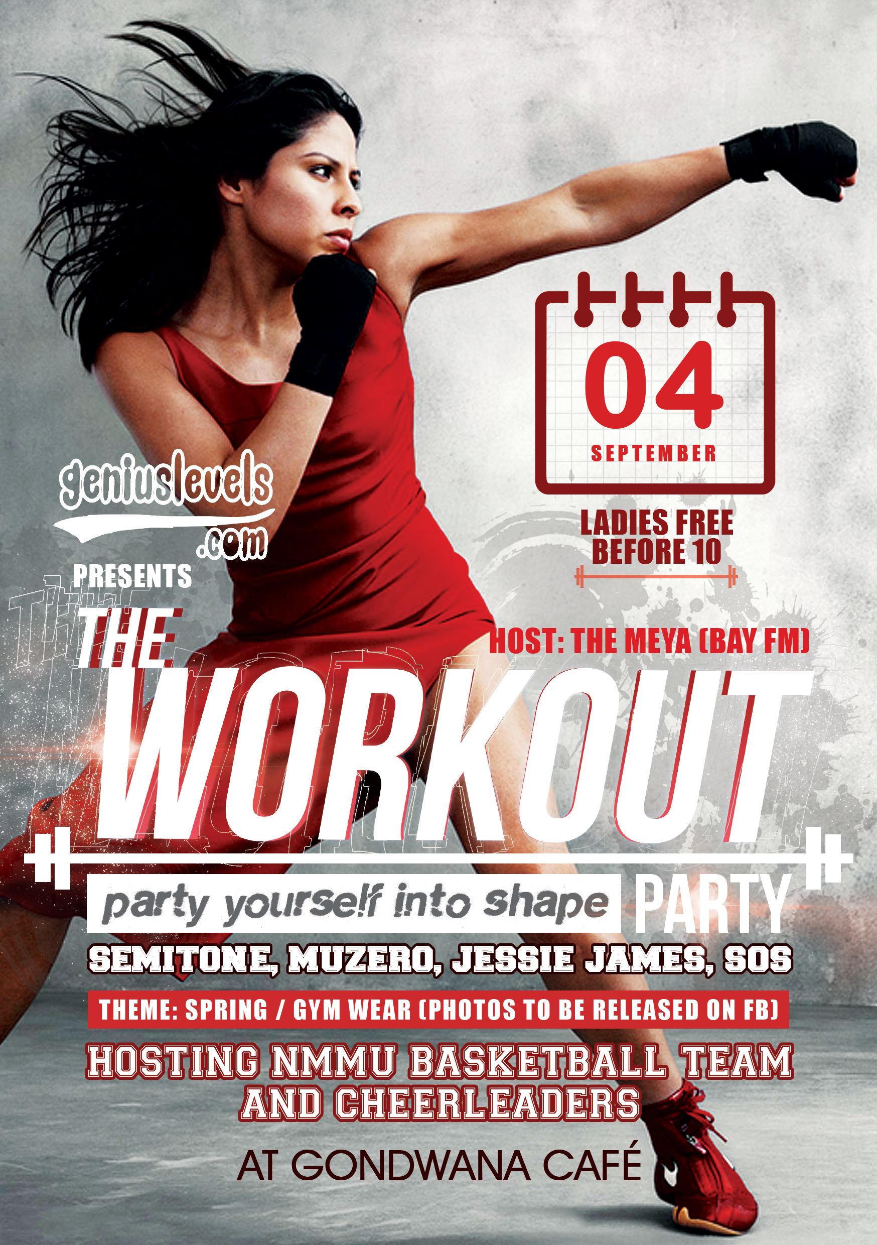 the workout party   come  u0026 39 party yourself into shape u0026 39  with